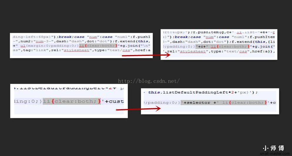 Ueditor uParse的Bug,因为生成全局CSS: li,导致影响全局样式, 造成网页其它部分显示混乱解决方案